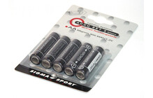 SIGMA Kit de Batterie Mignon (5 Pieces)